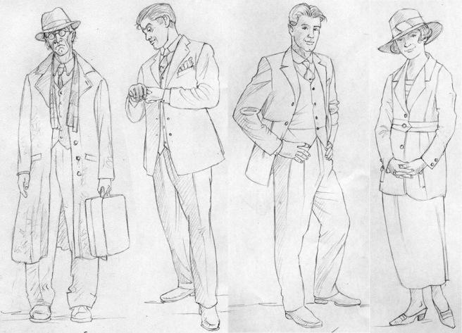 Agathachristie-sketches