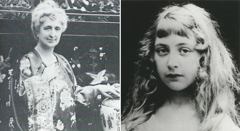 agatha-christie-and-mother